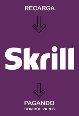 Recarga saldo Skrill