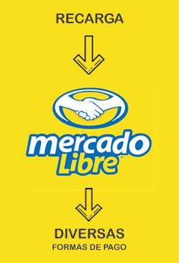 Recarga saldo Mercado Libre