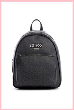 Guess Factory Muze logo Backpack Black