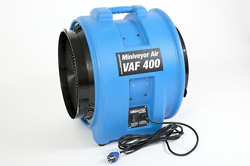 "Miniveyor Air VAF-400 230V 16A 16"" Portable Fume Extractor - 7500 m³/hour (4450 CFM)"
