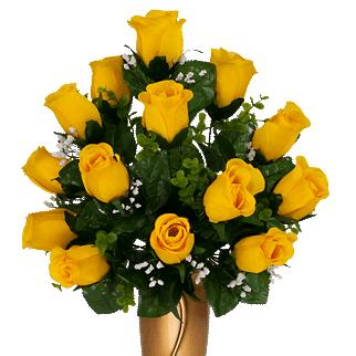 Mausoleum #10: Yellow Rose