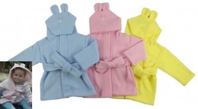 Infant's Bath Robe with Bunny Ears