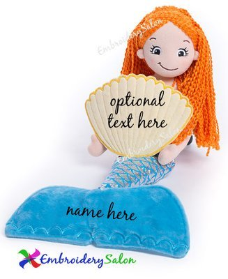 Mermaid Doll Huggable