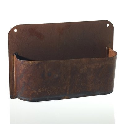 Rust Wall Planter - Large