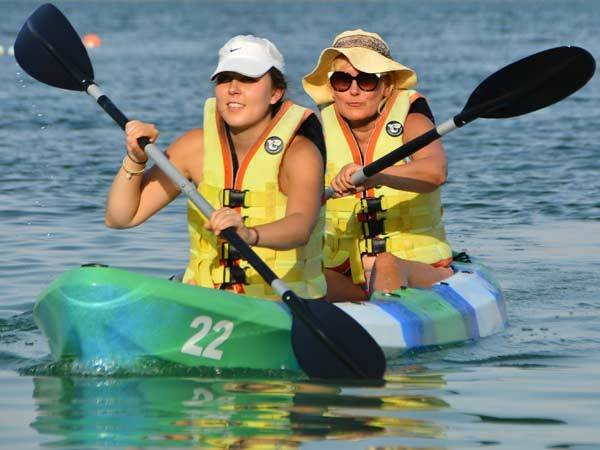 Kayaking Double 1HR