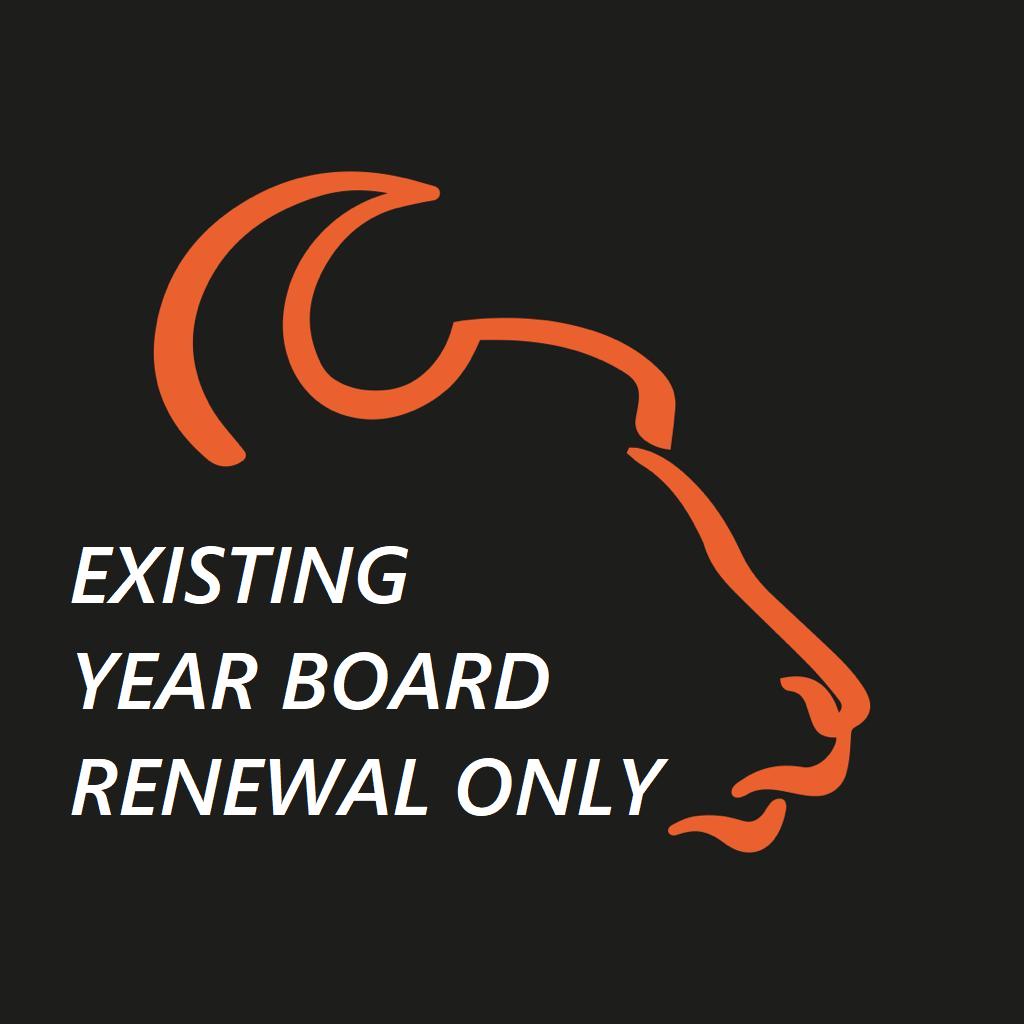 Existing Renewal Only - MTB Year Membership