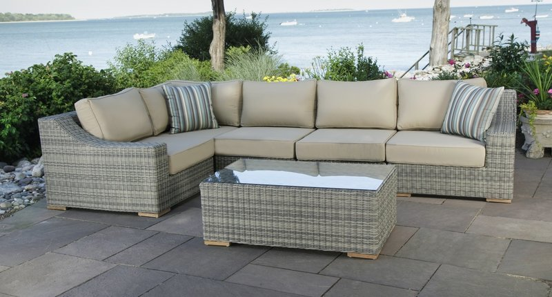 Corsica Sectional With Extender