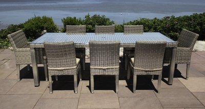 Corsica Outdoor Dining Set for 8
