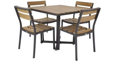 Asher Outdoor 4-Top Dining Set