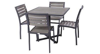 Mason Outdoor 4-Top Dining Set