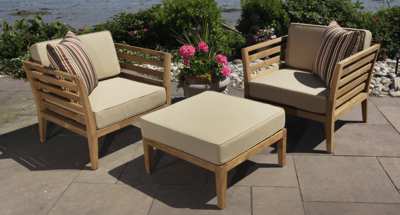 Bali Outdoor Club Chair Package