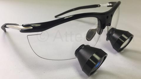 2.5X Customized Mini TTL Loupe on Flex Frame