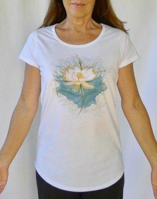 Blue Lotus Yoga Tee