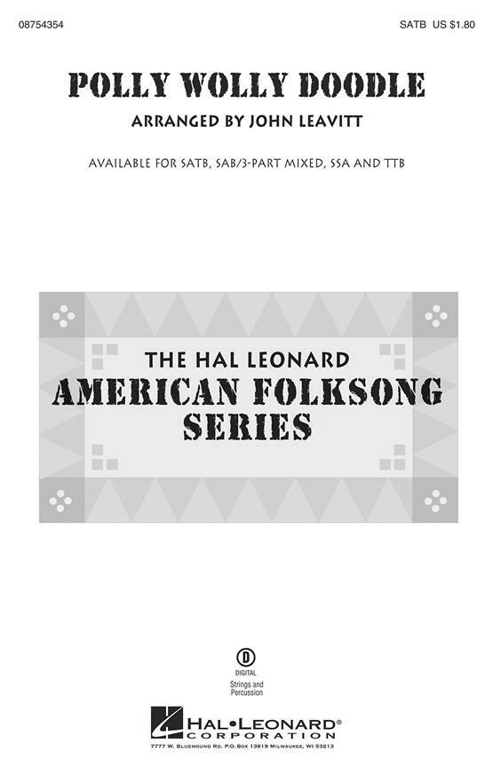 Polly Wolly Doodle - SATB Guide Tracks