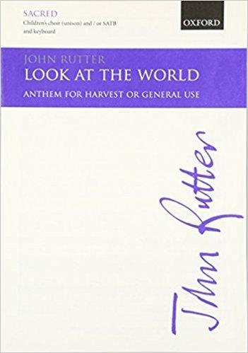 Look at the World (John Rutter) - Piano Backing Track