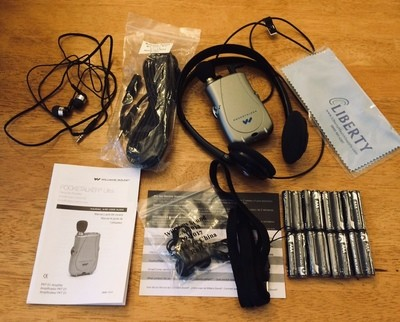 Williams Sound PKT D1 EH Pocketalker Ultra Duo Pack Personal Hearing Amplifier - Pre-Owned