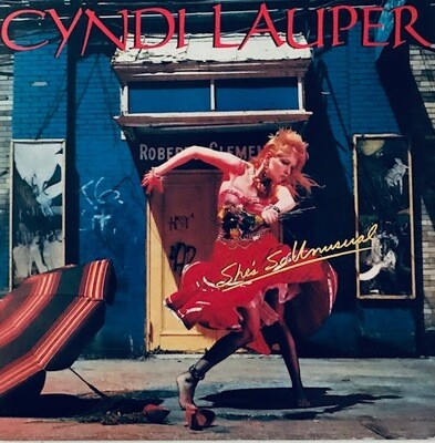 Cyndi Lauper ~ She's So Unusual ~ Vinyl LP (Original Pressing) (1983) CBS Records. Excellent Shape (USED).