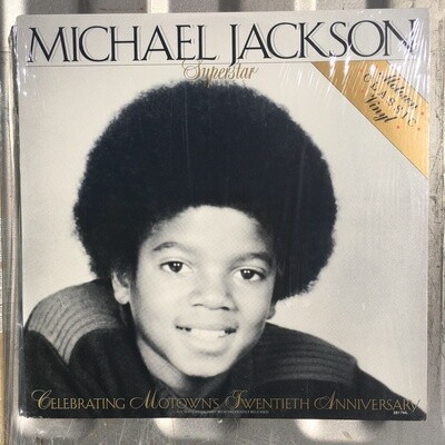 Michael Jackson ~ Superstar Series Vinyl LP (Used) Excellent