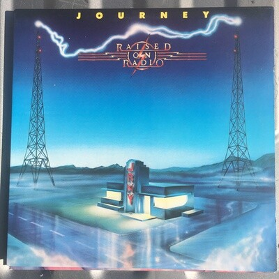 Journey ~ Raised on Radio ~ (1986) Vinyl LP (VG+)