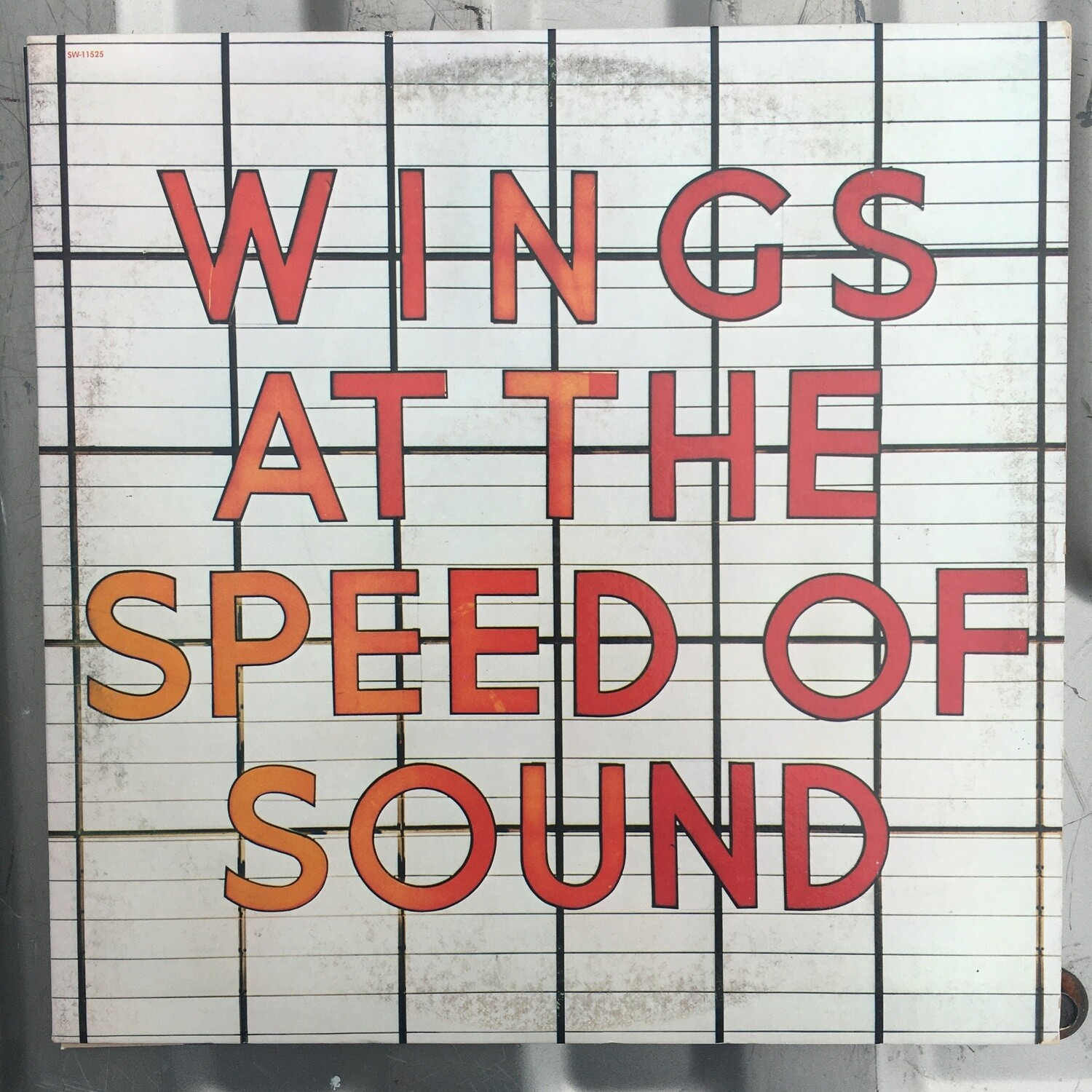 Wings ~ At The Speed Of Sound ~ (1976) Vinyl LP (VG+)