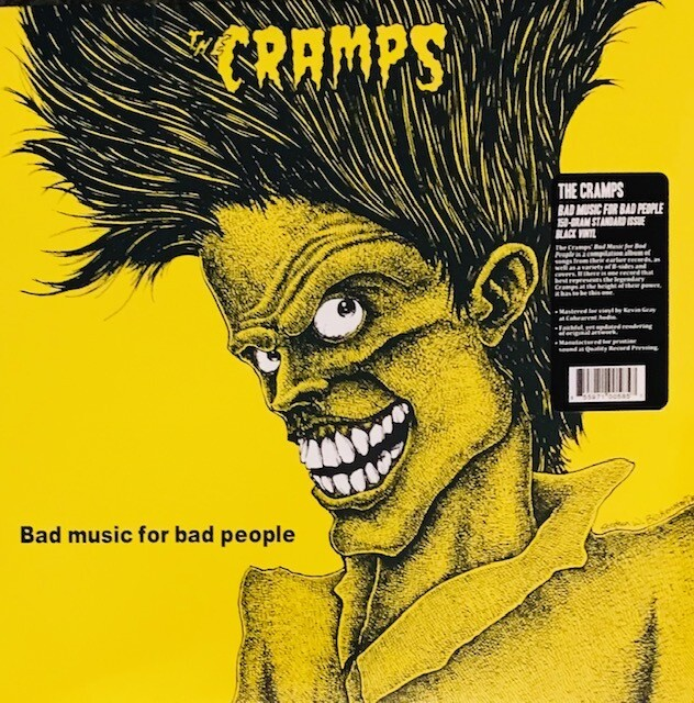 The Cramps ~ Bad Music For Bad People ~ 150-Gram Standard Issue Black Vinyl LP (New)