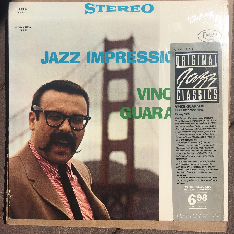 Vince Guaraldi ~ Jazz Impressions ~ (USED) Vinyl LP ~ RED Colored Vinyl