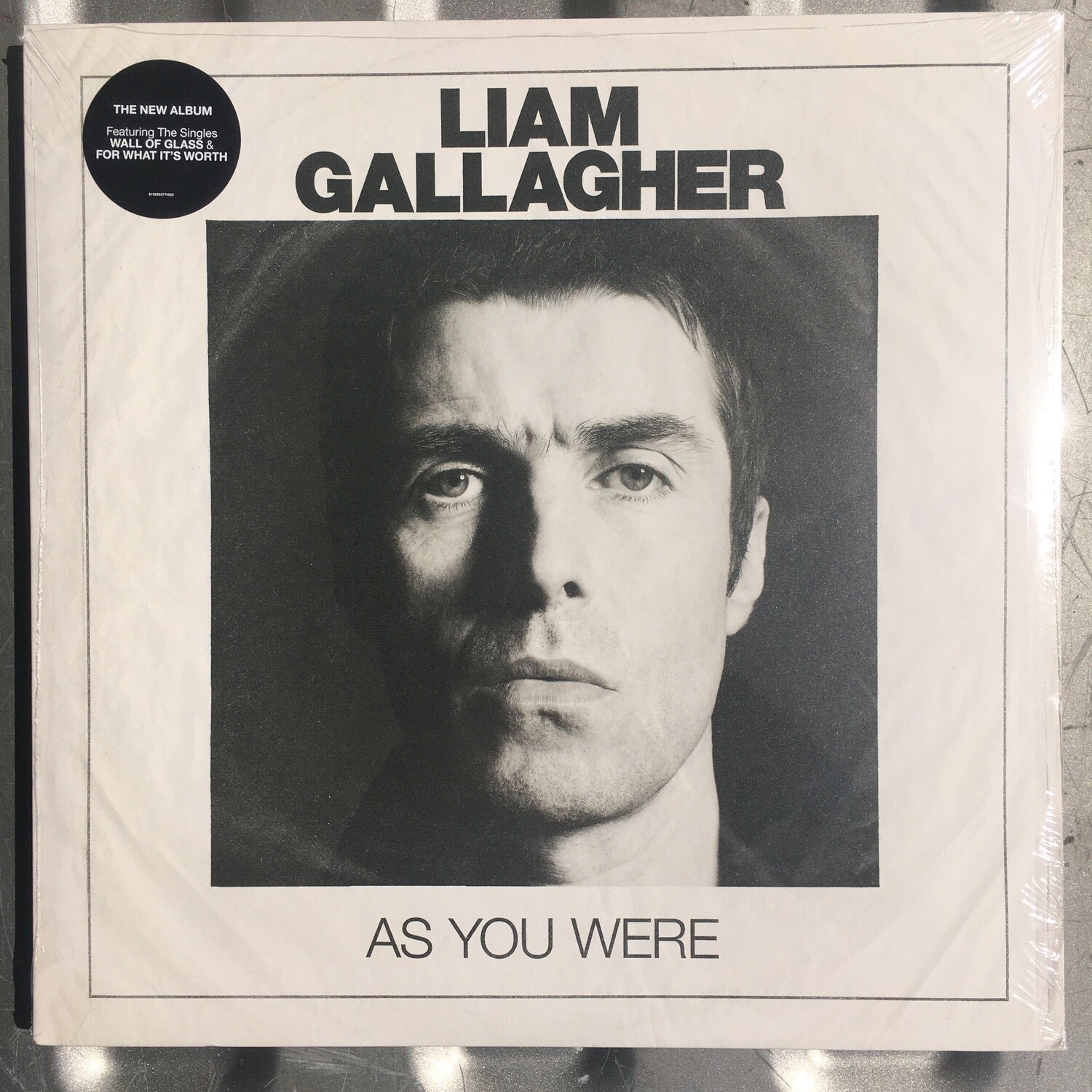 Liam Gallagher (Oasis) ~ As You Were ~ (NEW) Vinyl LP