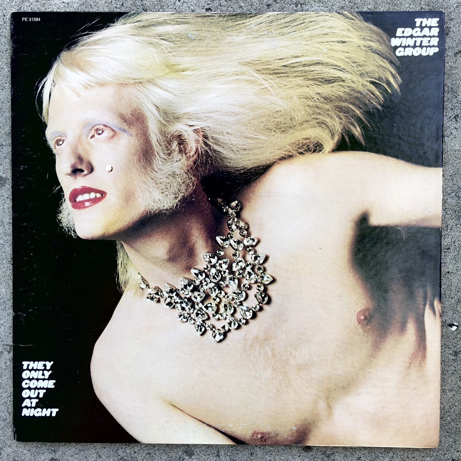 The Edgar Winter Group ~ They Only Come Out At Night ~ (USED) Vinyl LP
