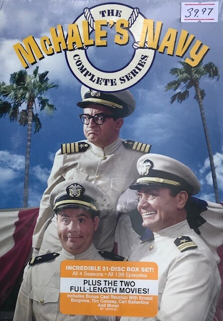 McHale's Navy ~ The Complete Series ~ 21 DVD Box Set (New)