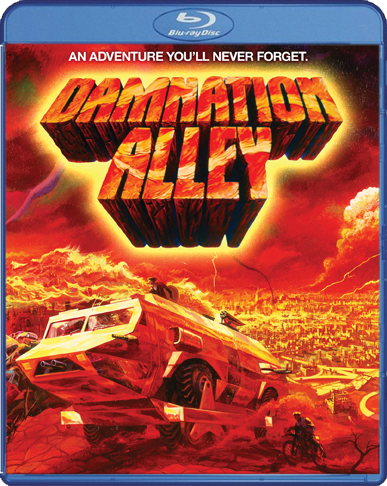 Damnation Alley ~ Blu-ray ~ (Used) Excellent ~ An Adventure You'll Never Forget