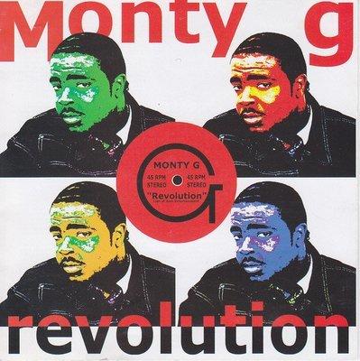 Monty G - Revolution CD Brand New (Sealed) Reggae