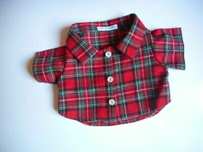 Shirt - red tartan