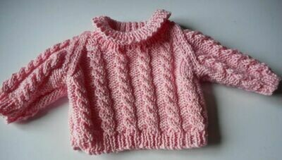 Jumper - pink cable