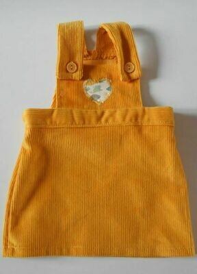 Pinafore - in 3 colour options