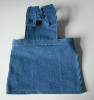 Pinafore - blue denim
