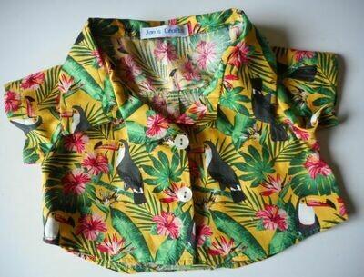 Shirt - toucan print
