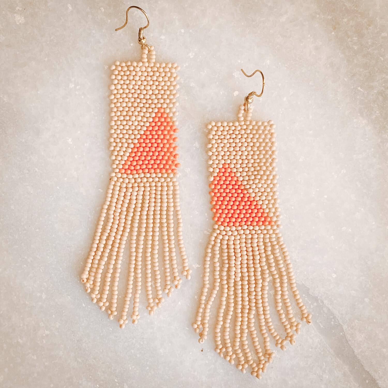pink orange asymetrical sber1601p