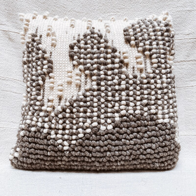 Nubby wool pillow df0681