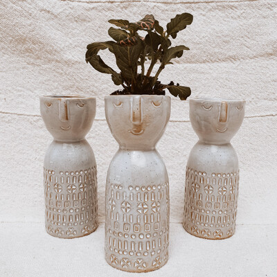 Stoneware Vase ah1208