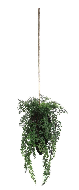 Faux Hanging Fern df0923