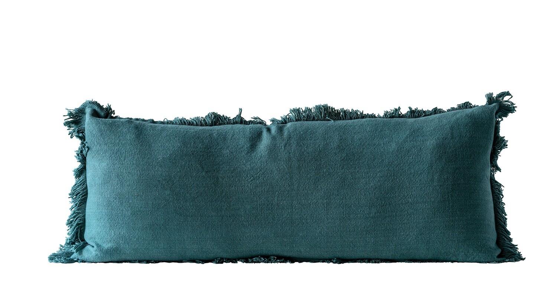 Cotton Fringe Pillow df0632