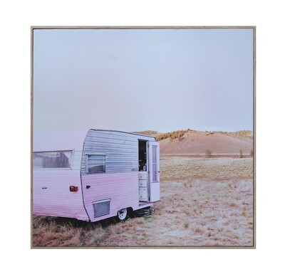Photo Trailer on Canvas df1063