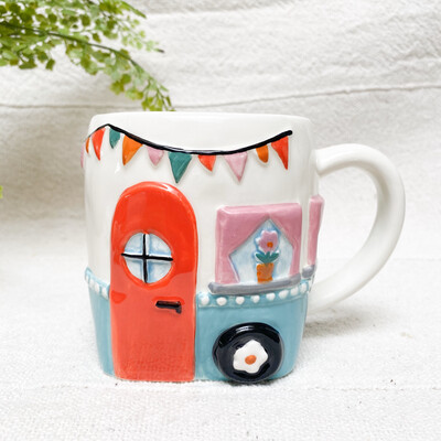 happy place camperr mug mug323