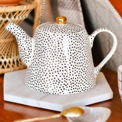 stoneware teapot  da9691