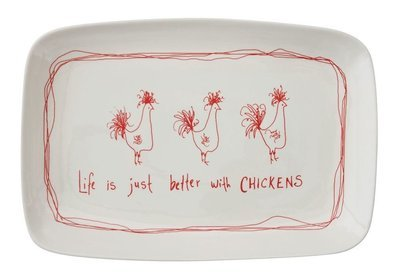 stoneware platter da6846