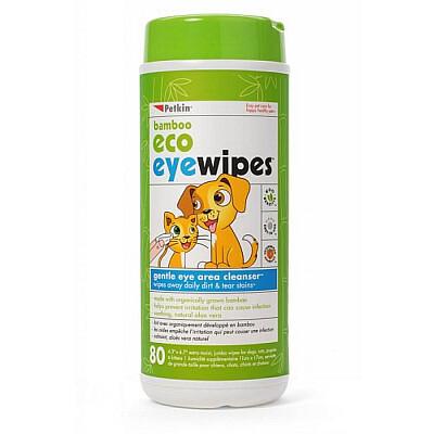 Petkin Bamboo Eco Eye Wipes
