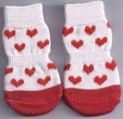 Non-Slip Love Dog Socks