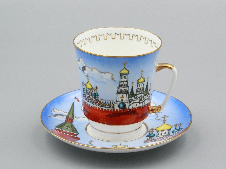 """Кофейная пара """"Стены Кремля"""""""
