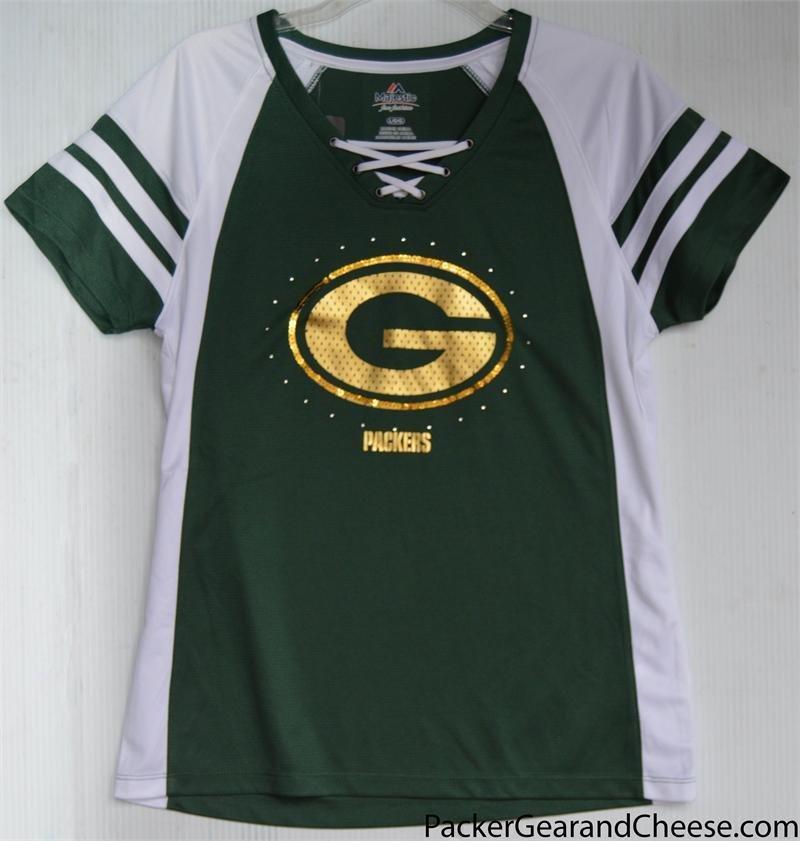 Ladies' Green Bay Packer Jersey 00015