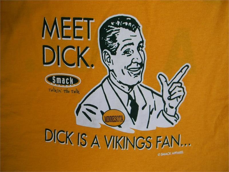 """""""Don't Be A Dick"""" Packers T-Shirt 00031"""